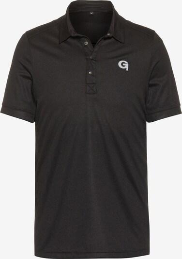 GONSO Poloshirt in schwarz, Produktansicht