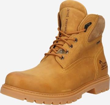 PANAMA JACK Boots med snörning 'Amur' i brun