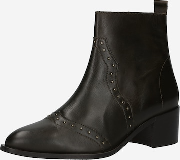 Ankle boots 'CAROL' di Bianco in verde
