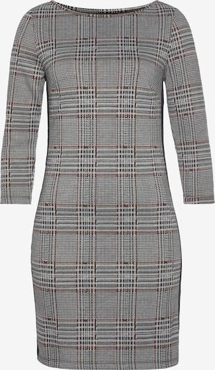TAMARIS Kleid in rostrot / schwarz / weiß, Produktansicht