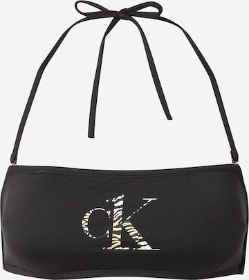 Calvin Klein Swimwear Bikinitopp i svart