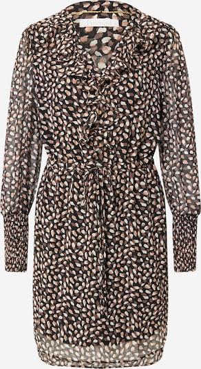 Freebird Košulja haljina u smeđa / puder roza / crna / bijela, Pregled proizvoda