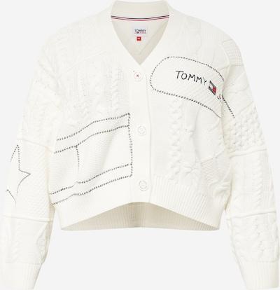 Tommy Jeans Curve Kampsun meresinine / punane / valge, Tootevaade