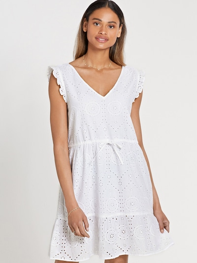 Shiwi Letní šaty 'MALAGA' - bílá, Model/ka