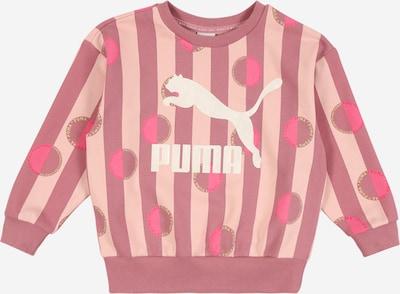 PUMA Bluzka sportowa w kolorze różowy pudrowy / ciemnoróżowy / białym, Podgląd produktu