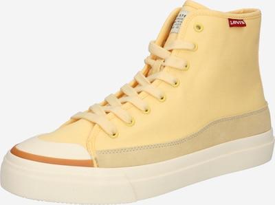 LEVI'S Baskets hautes 'SQUARE' en jaune, Vue avec produit