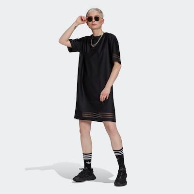 ADIDAS ORIGINALS Kleid in schwarz, Modelansicht