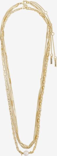 Pilgrim Łańcuszek 'Katherine' w kolorze złoty / perłowo białym, Podgląd produktu