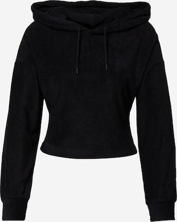 NU-IN Sweatshirt i svart
