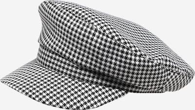 PIECES Hætte 'Nacky D2D' i sort / hvid, Produktvisning