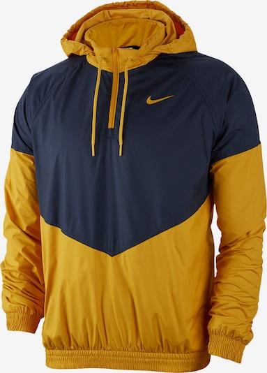 NIKE Jacke ' SB Shield Skate ' in dunkelblau / gelb, Produktansicht