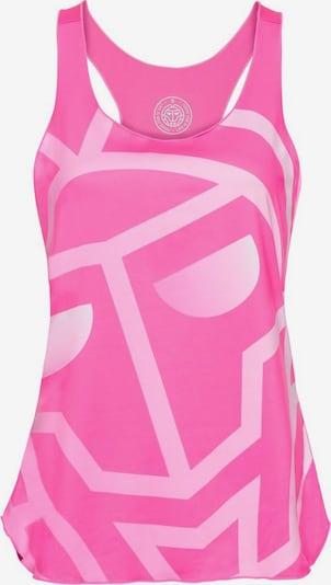 BIDI BADU Tanktop Arin Lifestyle mit großem Logo-Motiv in pink, Produktansicht