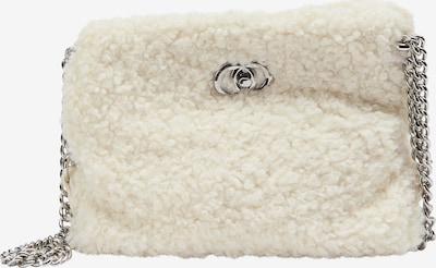 Borsa a tracolla taddy di colore bianco lana, Visualizzazione prodotti