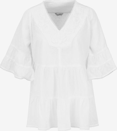 Frogbox Blouse in de kleur Offwhite, Productweergave