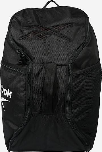 REEBOK Plecak sportowy w kolorze czarny / białym, Podgląd produktu