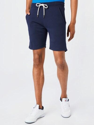 FYNCH-HATTON Nohavice - námornícka modrá, Model/-ka