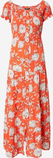 Palaidinės tipo suknelė iš DeFacto, spalva – oranžinė-raudona / juoda / balta, Prekių apžvalga
