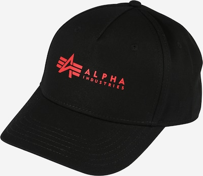 piros / fekete ALPHA INDUSTRIES Sapkák, Termék nézet