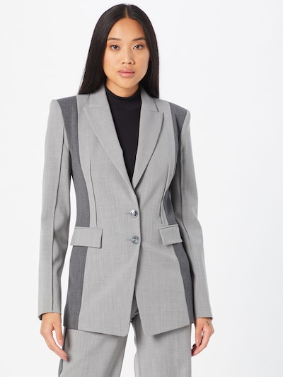 PATRIZIA PEPE Blazer in grau / dunkelgrau, Modelansicht