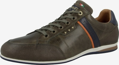 PANTOFOLA D'ORO Sneaker 'Roma' in dunkelblau / gold / oliv / orange, Produktansicht