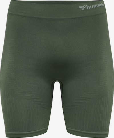 Hummel Shorts in dunkelgrün, Produktansicht
