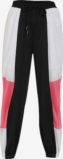 myMo ATHLSR Sportbroek in de kleur Rood / Zwart / Wit, Productweergave