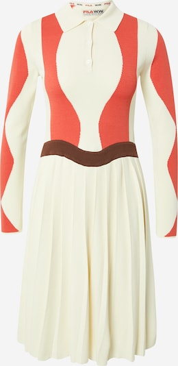 FILA Kleid 'SERENA' in beige / rot, Produktansicht