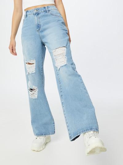 Jeans 'Dena' SHYX pe albastru denim, Vizualizare model