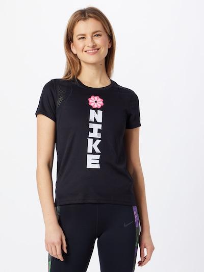 Sportiniai marškinėliai 'Icon Clash' iš NIKE , spalva - juoda / balta: Vaizdas iš priekio