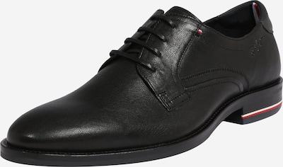TOMMY HILFIGER Lace-up shoe in black, Item view