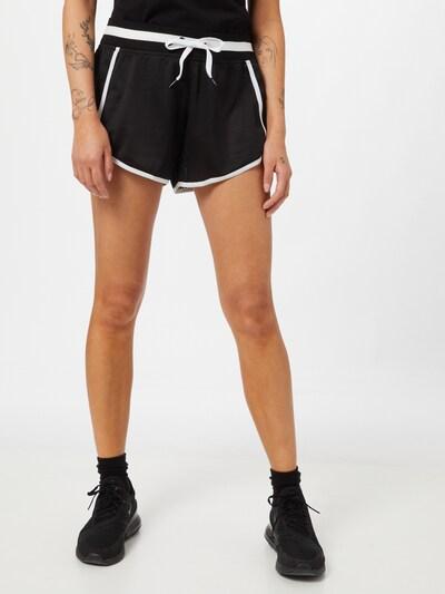 DKNY Performance Kalhoty - černá / bílá, Model/ka