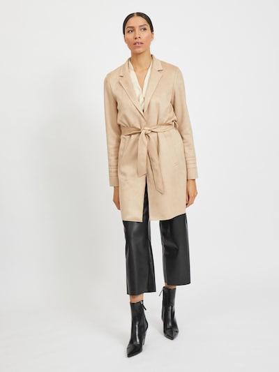 VILA Přechodný kabát 'Jaky' - tělová, Model/ka