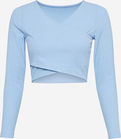 Tricou Pimkie pe albastru fumuriu, Vizualizare produs