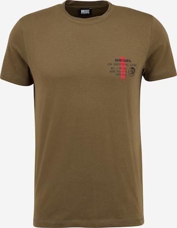 DIESEL Shirt 'DIEGOS' in Green