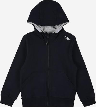 Bluză cu fermoar sport CMP pe negru, Vizualizare produs