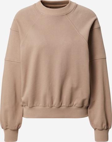 A LOT LESS Sweatshirt 'Kate' - (GOTS) in Beige