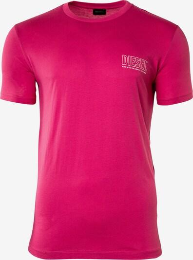 DIESEL Shirt in pink / weiß, Produktansicht