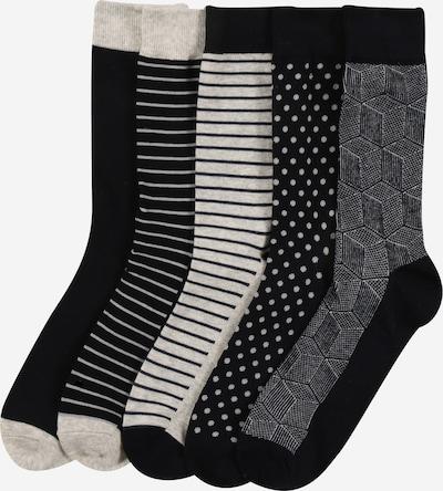 JACK & JONES Ponožky - šedá / černá / bílá, Produkt