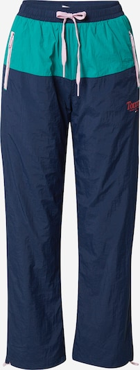 Tommy Jeans Hlače | mornarska / turkizna barva, Prikaz izdelka