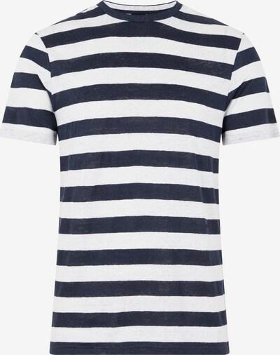 J.Lindeberg T-Shirt in blau / weiß, Produktansicht