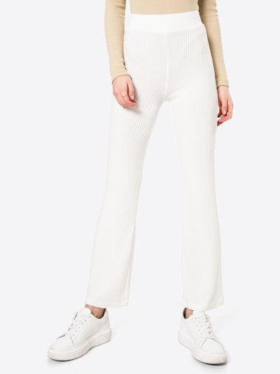 Gina Tricot Hose 'Stina' in offwhite, Modelansicht