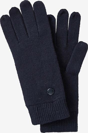 TOM TAILOR Full Finger Gloves in Blue / Dark blue, Item view