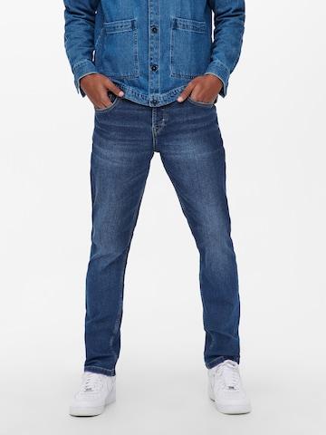 Jean 'Loom' Only & Sons en bleu
