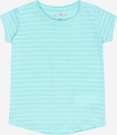 CMP T-Shirt fonctionnel en turquoise / bleu clair, Vue avec produit