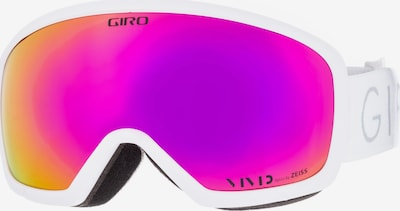 GIRO Skibrille 'Millie' in orange / neonpink, Produktansicht