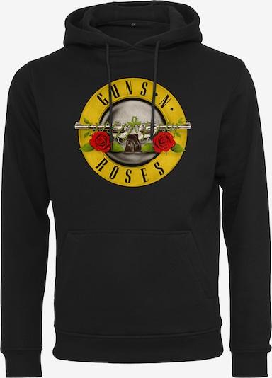 Mister Tee Mikina 'Guns n' Roses' - limone / světle šedá / trávově zelená / pastelově červená / černá, Produkt