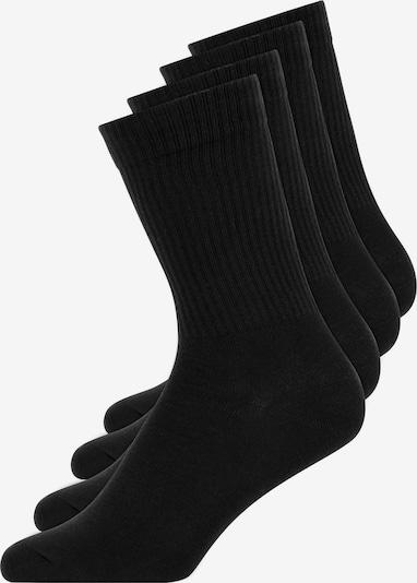 SNOCKS Tennissocken in schwarz, Produktansicht