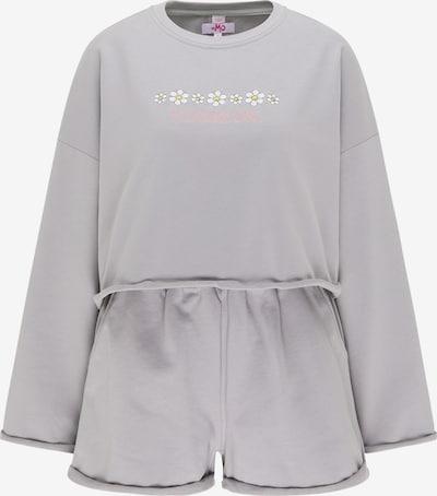 MYMO Survêtement en gris / rose / blanc, Vue avec produit