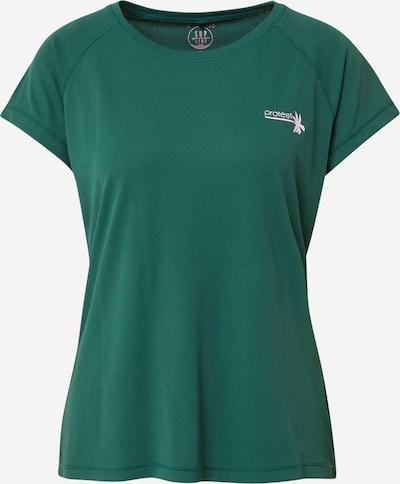 PROTEST Functioneel shirt 'NOAH' in de kleur Smaragd / Wit, Productweergave