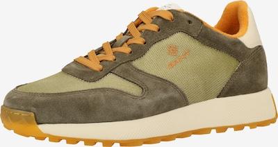 GANT Sneaker in grün / hellgrün / orange, Produktansicht